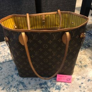 Louis Vuitton Neverfull MM Mimosa